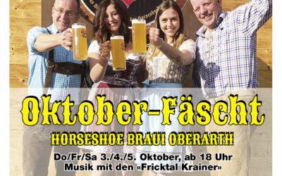 Oktoberfest vom 3.-6. und 10.-13. Oktober