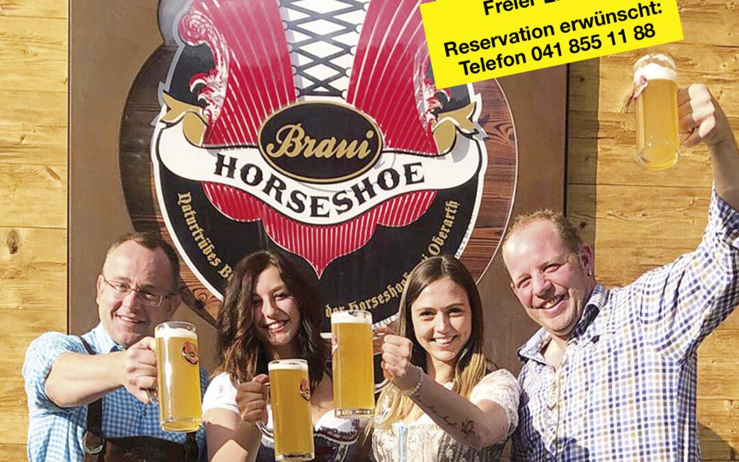 Oktober Fäscht 2020 in der Horseshoe Braui abgesagt