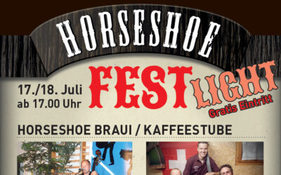 17. und 18. Juli: Horseshoe Fest light