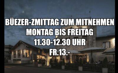 Büezer-Zmittag